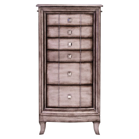 Natalie Jewelry Armoire - Hives & Honey - image 1 of 4