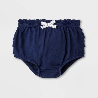 Baby Girls' Ruffle Bloomer Pull-On Shorts - Cat & Jack™ Blue 6-9M