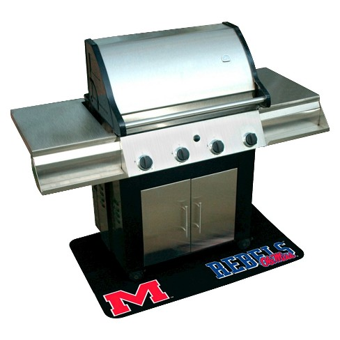 Mr. Bar-B-Q - NCAA - Protective Grill Mat, University of Mississippi Rebels - Ole Miss - image 1 of 1