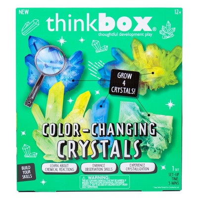 Thinkbox 10pc Color Changing Crystals Craft Activity Kit