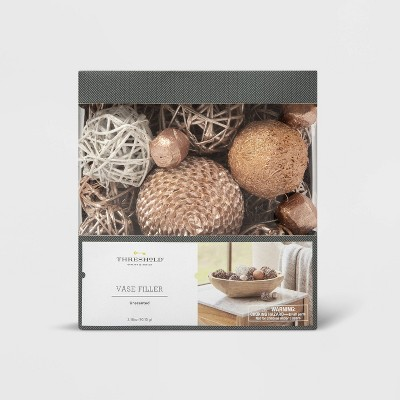 Vase Filler Unscented Gold Botanicals - Lloyd and Hannah - Threshold™
