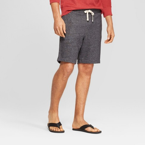 Men's Elevated Knit Lounge Shorts - Goodfellow & Co™ Gray - image 1 of 3