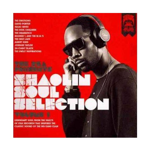 RZA - RZA Presents Shaolin Soul Selection: Vol. 1 (CD) - image 1 of 1