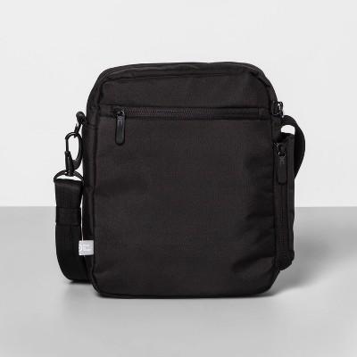 AntiTheft RFID Medium Crossbody Vertical Handbag Black - Made By Design™