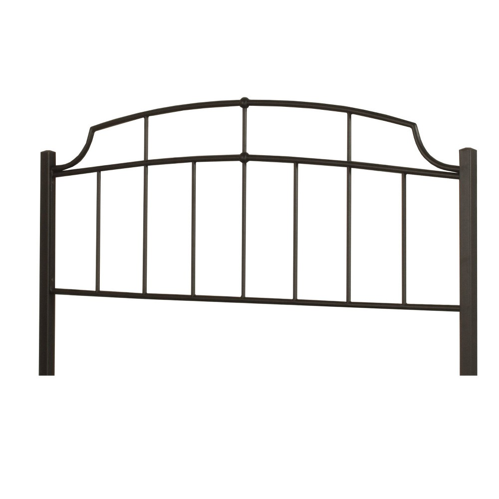 Sheffield Metal Headboard Full/Queen Headboard Frame Not Included Textured Black - Hillsdale Furniture