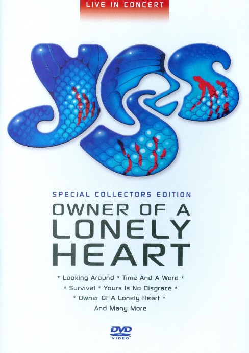 Owner of a lonely heart:Best of yes (DVD) - image 1 of 1
