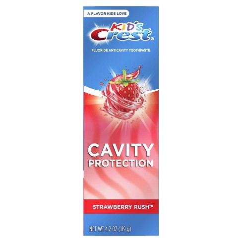 Crest Kid's Cavity Protection Fluoride Toothpaste Strawberry Rush - 4.2oz - image 1 of 2