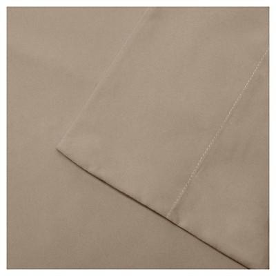 Queen 3M Microcell All Season Moisture Wicking Lightweight Sheet Set Khaki