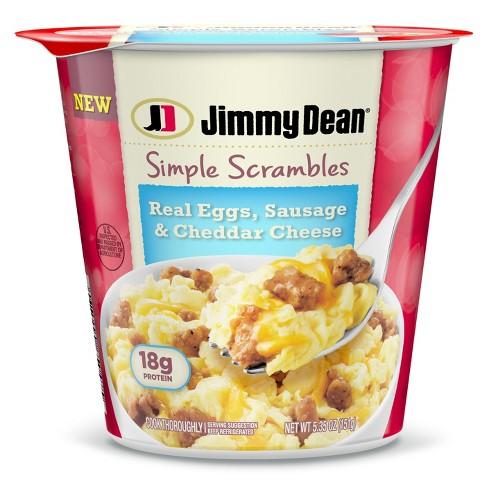 Jimmy Dean Simple Scrambles Sausage 5 35oz Target