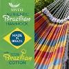 Vivere Authentic Double Brazilian Tropical Hammock - image 2 of 4