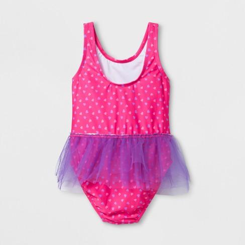 cf10135da940d Toddler Girls  Peppa Pig One Piece Swimsuit - Pink   Target