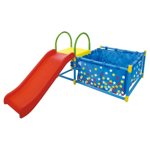Eezy Peezy Ball Pit with Slide - image 1 of 2