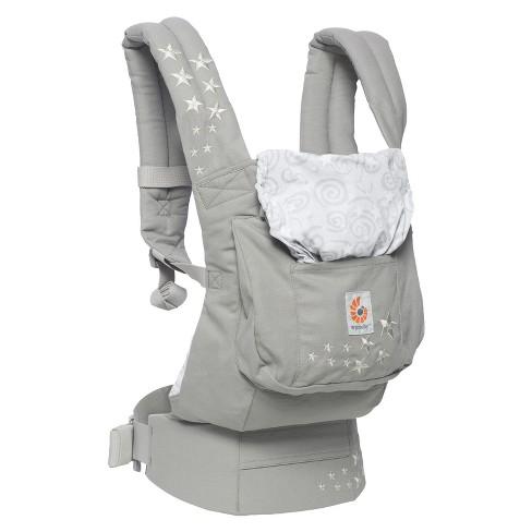 Ergobaby Original Ergonomic Multi Position Galaxy Baby Carrier Gray