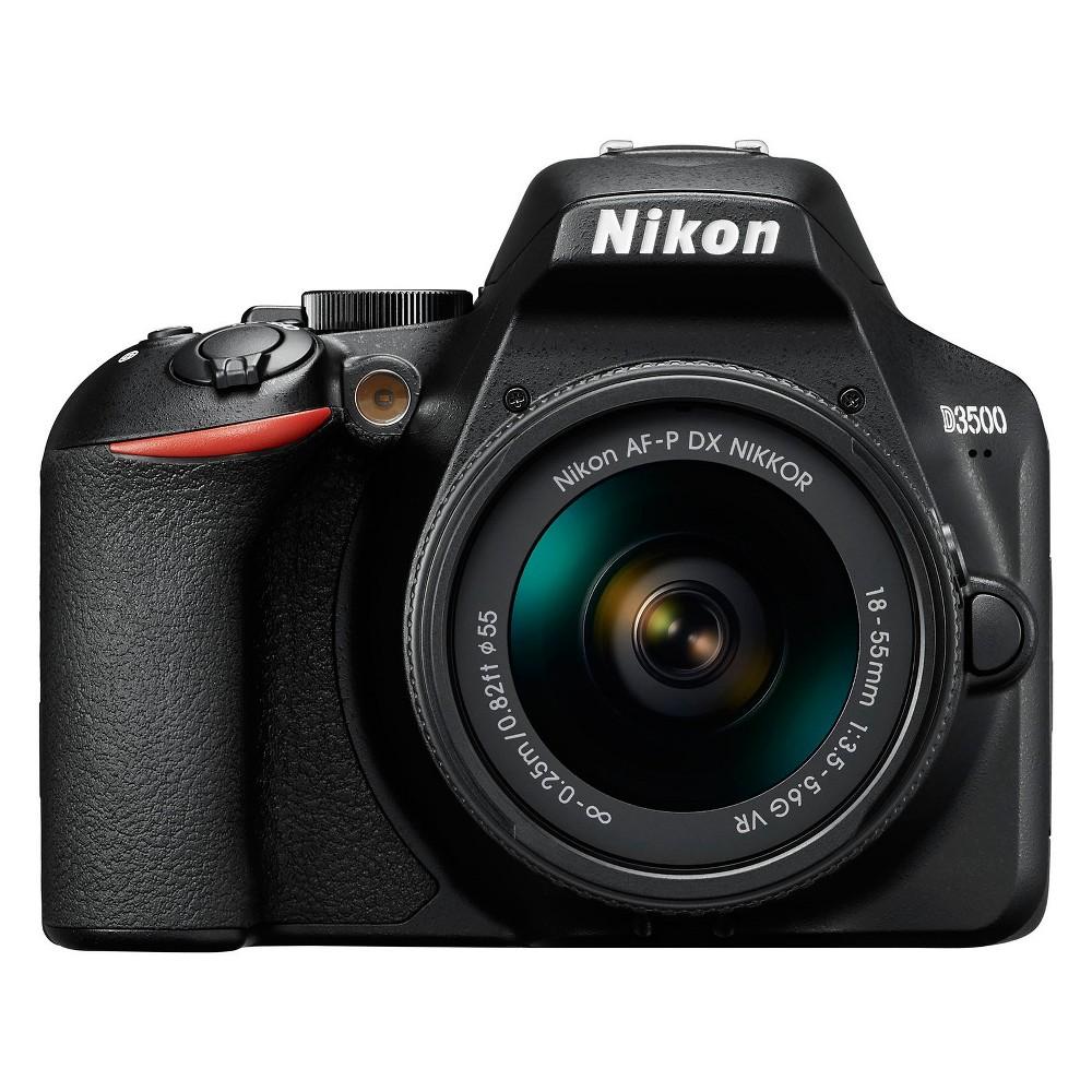 Nikon D3500 18-55mm Kit, Black