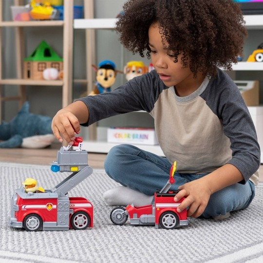 PAW Patrol Marshall Transforming Fire Truck image number null