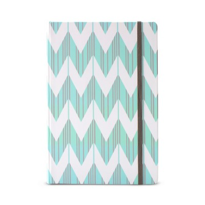 Dabney Lee Journal (240 pages, lined) - Mint / Chevron