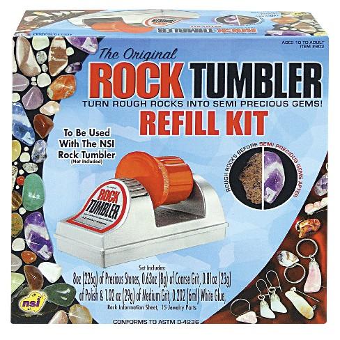 The Original Rock Tumbler Refill Kit
