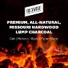 Rockwood 20 Pound All Natural Hardwood Grill Smoker Lump Charcoal Bag (4 Pack) - image 3 of 4