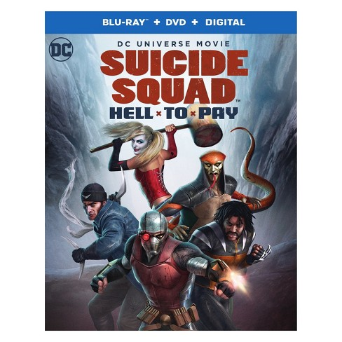 DCU: Suicide Squad: Hell To Pay (Blu-ray + DVD + Digital) - image 1 of 1