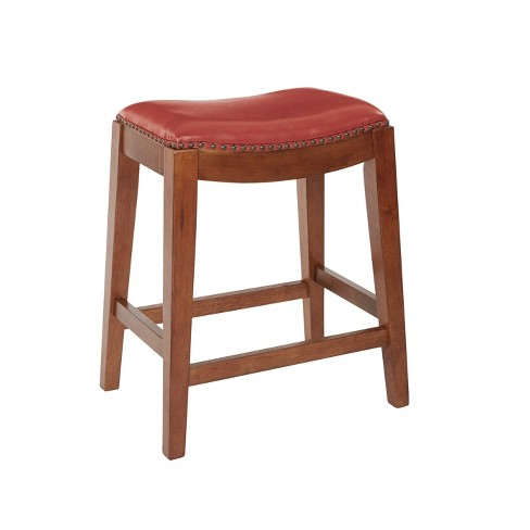 Medford Writing Desk Distressed Red - OSP Home Furnishings - image 1 of 4