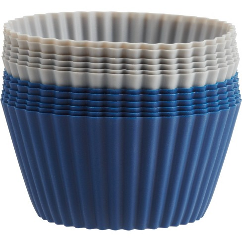12ct Silicone Baking Cups - Made By Design™ - image 1 of 2