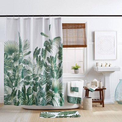 Indoor Garden Shower Curtain Green - Destinations