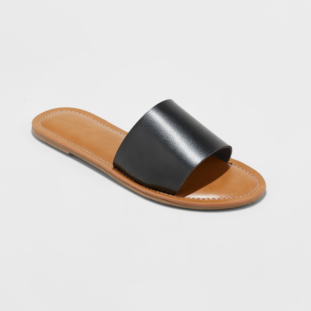 Women's Kerrigan Slide Sandal - Universal Thread Black 8