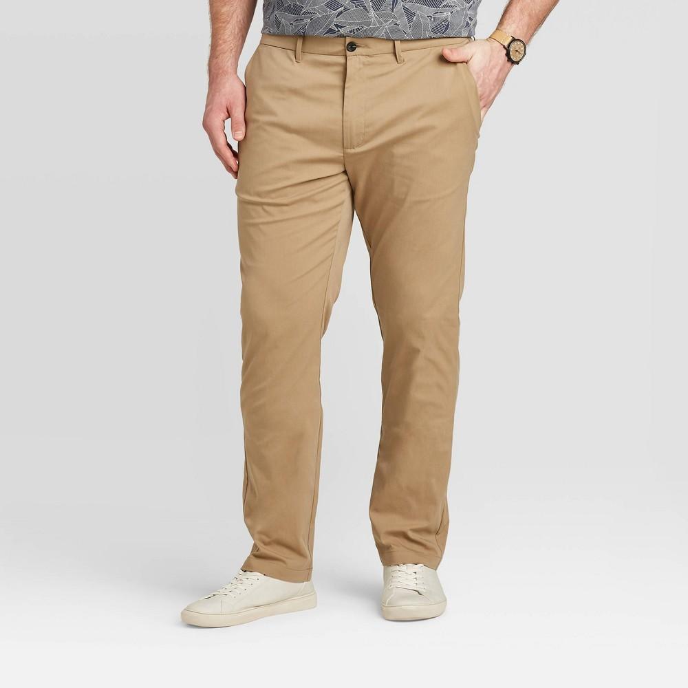 Men 39 S Tall Slim Chino Pants Goodfellow 38 Co 8482 Beige 36x36