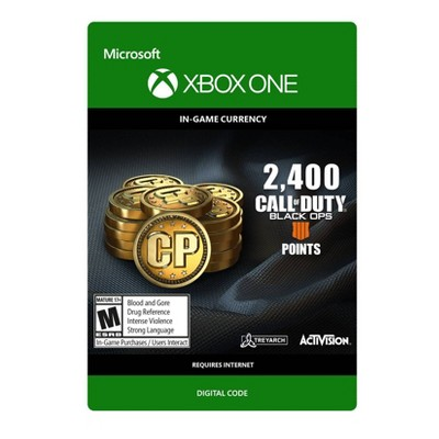 Call of Duty: Black Ops 4 2400 Points - Xbox One (Digital)