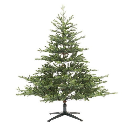 Christmas Branch Tree.4 5ft Pre Lit Artificial Christmas Tree Balsam Fir Clear Lights Wondershop