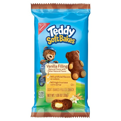 Teddy SoftBakes Snacks Vanilla Filling - 1.06oz - image 1 of 1