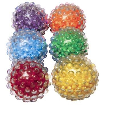 Abilitations Roll N Rattle Sensory Balls, set of 6