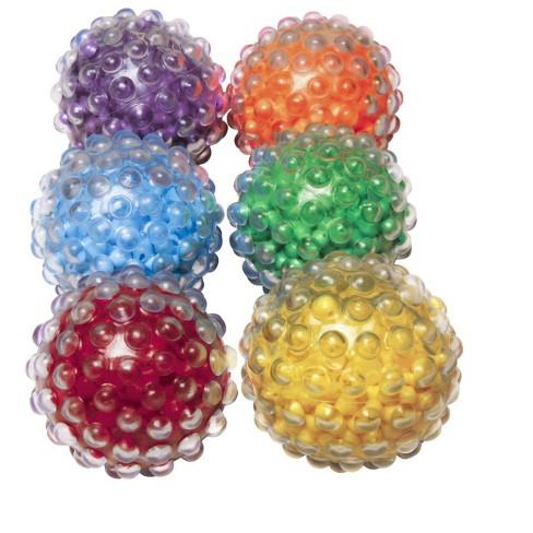 Abilitations Roll N Rattle Sensory Balls, set of 6 - image 1 of 2