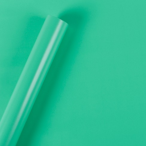 Teal Gift Wrap - Spritz™ - image 1 of 1
