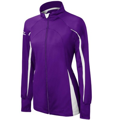 Mizuno Youth Girl's Nine Collection Focus Full Zip Volleyball Jacket