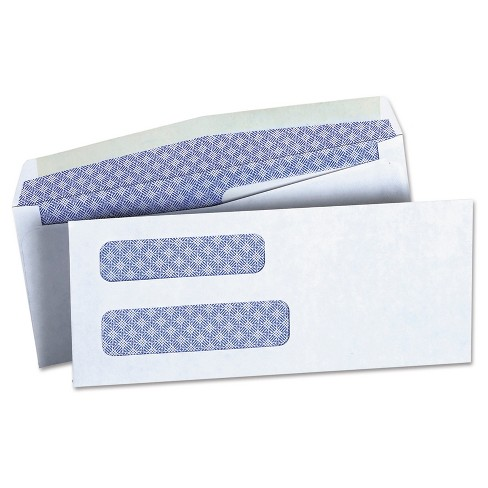 Wet And Seal Envelopes White Universal Office - image 1 of 2