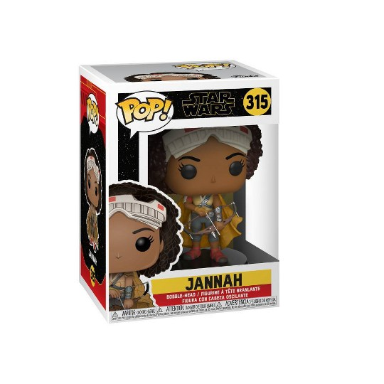 Funko POP! Star Wars: The Rise of Skywalker - Jannah image number null