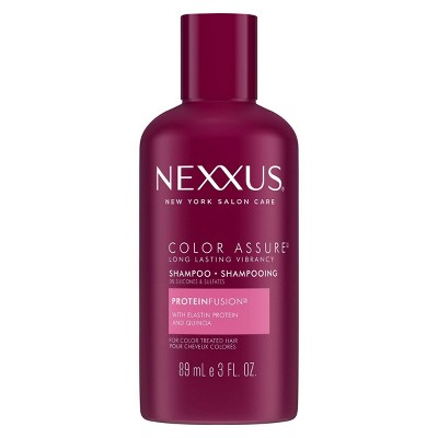 Nexxus Color Assure Sulfate-Free Shampoo For Color-Treated Hair with ProteinFusion Travel Size - 3 fl oz