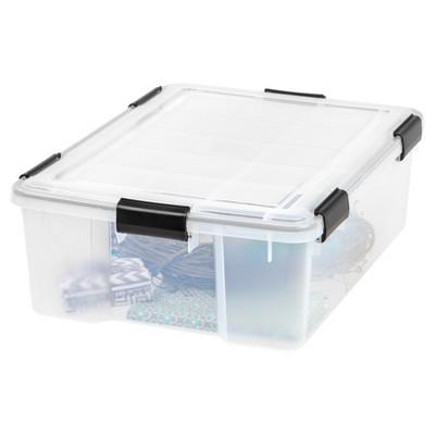 Bon IRIS Weathertight Plastic Storage Bin : Target