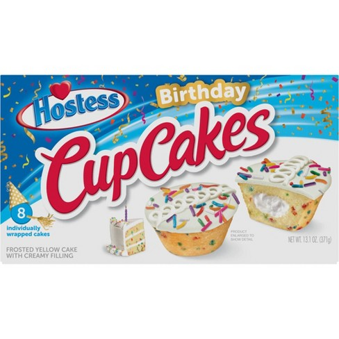 Hostess Birthday Cupcakes - 8ct/13.1oz. - image 1 of 4
