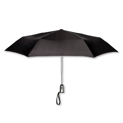 ShedRain Auto Open/Close Compact Umbrella  - Black