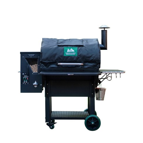 Green Mountain Grills Insulated Thermal Winter Blanket for Daniel Boone Smart Pellet Grills, Increases Burn Efficiency By 50 Percent, Black - image 1 of 4