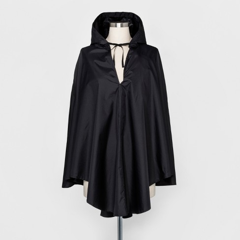 ShedRain Hooded Packable Ponchos - Black - image 1 of 2