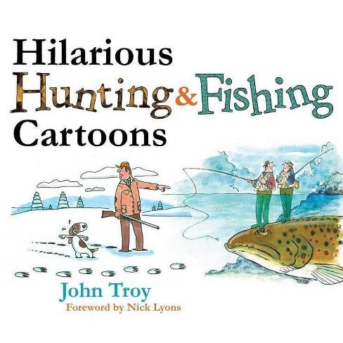 Hilarious Hunting & Fishing Cartoons - (Mixed media product) - image 1 of 1