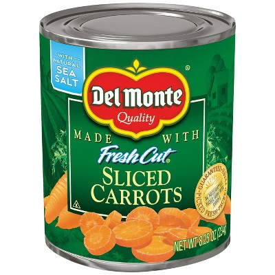 Del Monte Fresh Cut Sliced Carrots 8.25oz