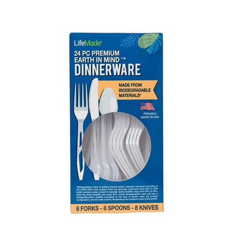 LifeMade Earth-In-Mind Dinnerware - 24pc - image 1 of 4