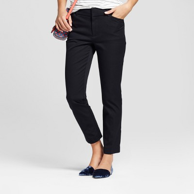 Women's Skinny High-Rise Ankle Pants - A New Day™ Black 16