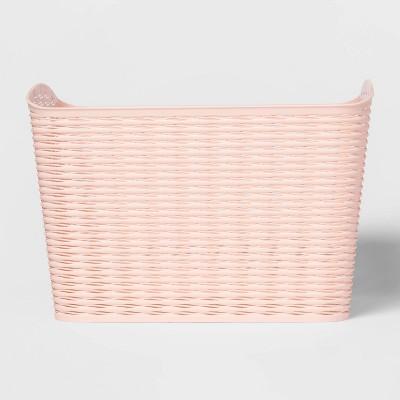 Wave Curved Storage Bin Blush - Room Essentials™