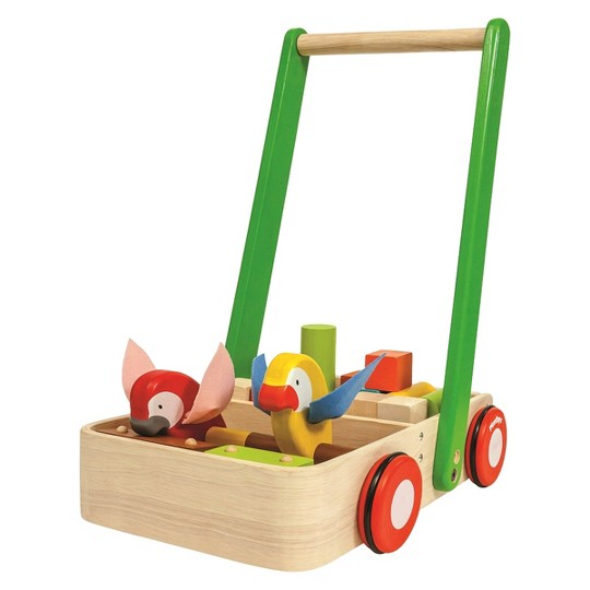 PlanToys Bird Walker, push and pull toys image number null