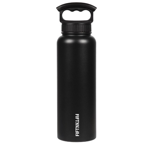 FIFTY/FIFTY 40oz Bottle with 3-Finger Grip Cap - image 1 of 4